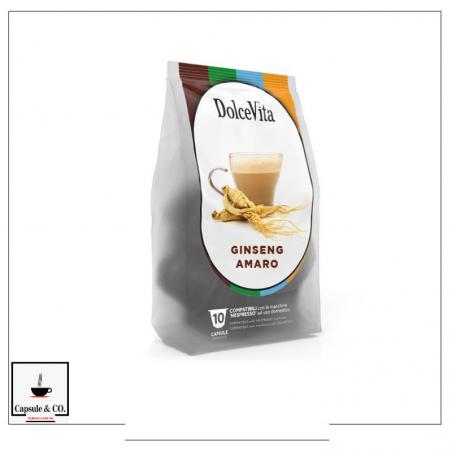 Dolce Vita Ginseng Amaro Nespresso 10 Capsule