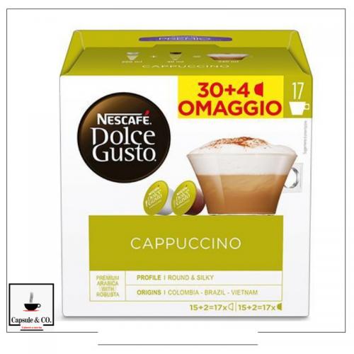 Nescafè Cappuccino 30 + 4...