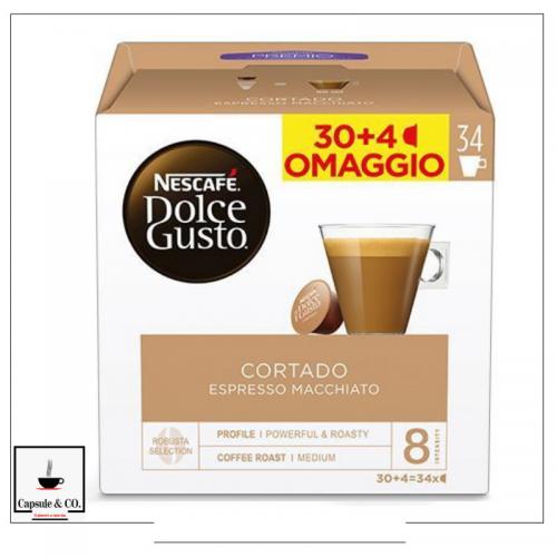 Nescafè Cortado 30 + 4 Capsule