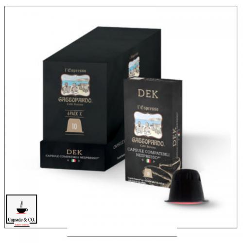 ToDa Dek Nespresso 60 Capsule